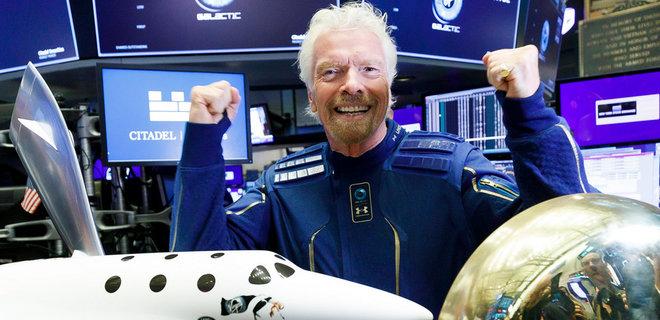 Брэнсон продал акции Virgin Galactic на $300 млн  - Фото