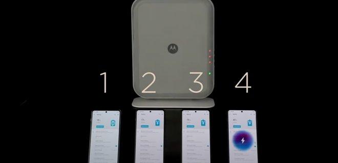 Motorola показала по-настоящему беспроводную зарядку с впечатляющими возможностями – видео - Фото