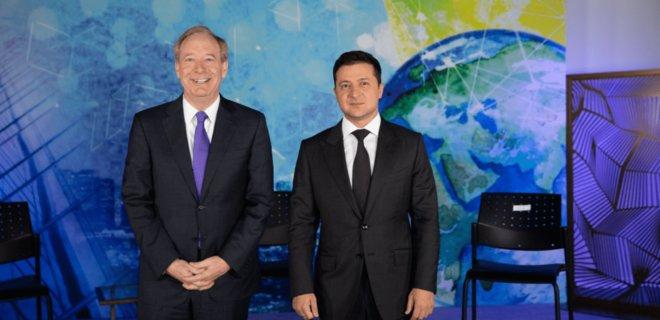 Владимир Зеленский встретился с главой Microsoft. О чем говорили  - Фото