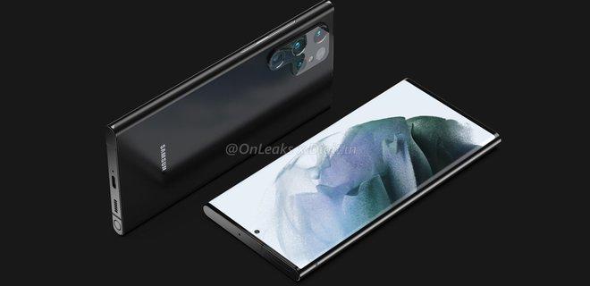 Стало известно, как будет выглядеть Samsung Galaxy S22 Ultra – фото - Фото