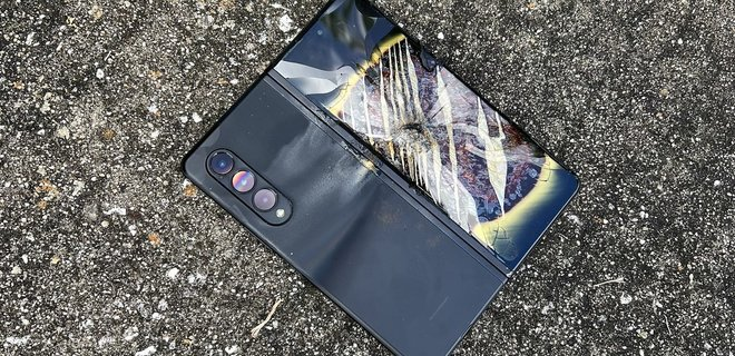 Новейший смартфон Samsung загорелся спустя неделю после падения – видео - Фото