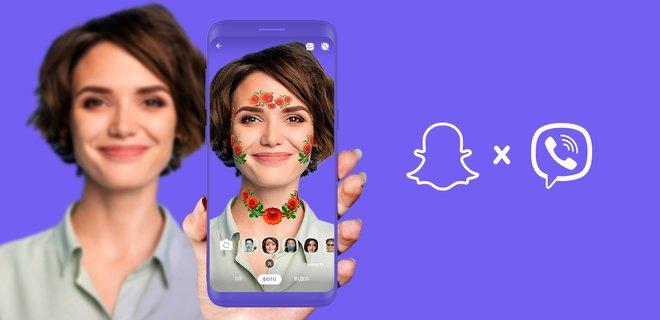 Viber запустил маски дополненной реальности для украинцев - Фото